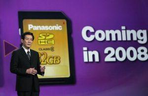 Die Speicherkarten von Panasonic
